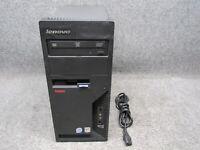 Lenovo ThinkCentre M58 Tower PC Intel Pentium E5300 2.60GHz 4GB RAM 250GB HDD