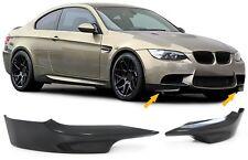 CARBON FRONT FLAPS SPOILER FÜR BMW 3ER Coupe E92 Cabrio E93 06-10