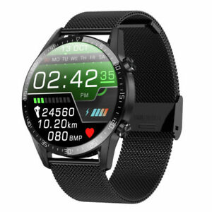 Multicolor Smart Watches Mens Ecg Vibration Blood Pressure Heart Rate Monitors
