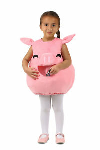 Feed Me Piggy Pink Pig Candy Catcher Toddler Costume NEW Size 18 Months / 2T