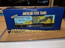 American Flyer S Gauge 6-48826 AF 1956 Catalog Art Boxcar C-9 OB