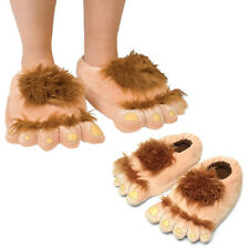 Funny Foot Shape Indoor Unisex Warm Slippers Monster Plush Home Slippers Shoes