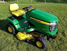 "John Deere X300 Ride On Mower - 42"" Mulch Edge Deck - 500 hours"