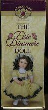 "A Life of Faith Mission City Press Elsie Dinsmore Presentation Doll 18.25"" H"