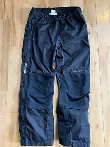Columbia Men's Large Titanium Omni-Tech Snow Ski Pants Zip closure