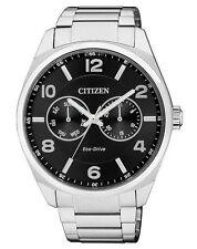 Lässige Citizen Eco-Drive Armbanduhren aus Edelstahl