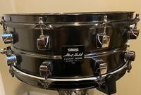 YAMAHA Steve Gadd Signature Snare Drum 14 x 5.5 Black Steel SD-255SG #0303