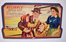 Reliance needle case book