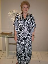 Long  Kaftan/Caftan dress Designed in Australia Boho,Grecian Plus size 16-24 New