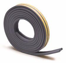 Raven WINDOW & DOOR WEATHER STRIP Self Adhesive Rubber Covers 3-5mm Gap 5m GREY