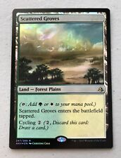 English Amonkhet MTG Magic Foil NM-Mint 1x Scattered Groves