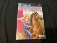 PLAYSTATION 2 PS2 BARBIE HORSE ADVENTURES WILD HORSE RESCUE VIDEO GAME