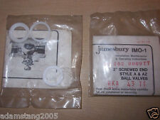 "NEW JAMESBURY IMO-1 00 202 0009TT 1/4""-2"" RKA 43 RKA 43TT BALL VALVE SERVICE KIT"