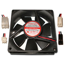 Evercool 80mm x 25mm Power Supply Replacement Fan Choose from 4 connectors!