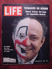 LIFE February 20 1970 CIRCUS CLOWN SCHOOL FRANCE HEROIN