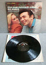 ED AMES MY CUP RUNNETH OVER 1967 RCA Victor Dynagroove Lp Gospel LSP3774
