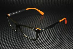 VERSACE VE3245 5235 Transparent Green Orange Demo Lens 55 mm Mens Eyeglasses