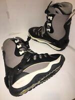 Ride Device  Interface step in boots Men's Size 9 EU 42  Black/Gray