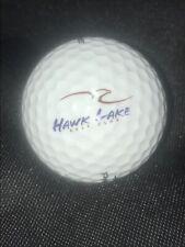 Hawk Lake Golf Club Golf Ball dIsplay Logo for Cabinet Pinnacle 3 New
