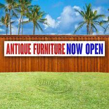 Antique Furniture Now Open Advertising Vinyl Banner Flag Sign Large Huge Xl Size