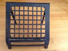 Antique Rare Emil Paidar Barbershop Cast Iron Footrest
