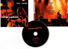 "RODRIGO Y GABRIELA ""Live In Japan"" (CD) 2008"