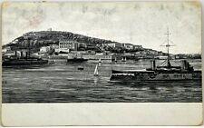 Cartolina Marina - Navi Da Guerra In Transito - Viaggiata