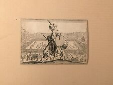 Old Master Etching By Jacques Callot [1592-1635] French Circa 1620