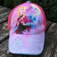 Official Disney Frozen  Girls Kids Cap 4 - 8 Yrs Adjustable Pink D443-6