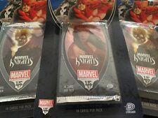 NEW Marvel VS System Marvel Knights Booster Box - 20 Booster Packs