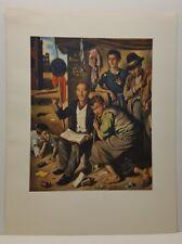 Vagabonds Gregorio Sciltian Italian Art Print Realism