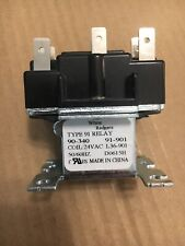 WHITE RODGERS 90-340 TYPE 91 SWITCHING FAN RELAY 90340, 91-901 COIL 24V