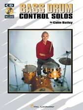 Bass Drum Control Solos Percussion Book and Cd New 006620068