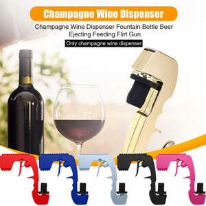 Zinc Alloy Champagne Dispenser Sprayer Gun Bottle Beer Spray For Wedding US