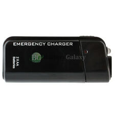 USB Emergency Portable 2 AA Charger for Apple iPhone 11 / 11 Pro / 11 Pro Max