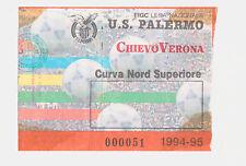 54175 Biglietto stadio - Palermo Chievo Verona - 1994/95