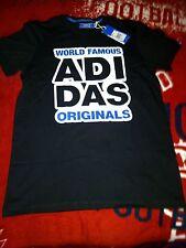 "Adidas t-shirt..with logo "" World famous Adi-das originals"" on front.. medium"