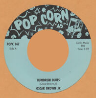 R&B REPRO: OSCAR BROWN JR - Sixteen Tons/Humdrum Blues  POPCORN -HEAR IT!