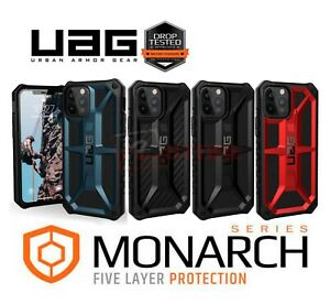 UAG Monarch For Apple iPhone 12 Pro Max Hard Case Leather Metal Cover Rugged