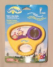 Teletubbies Peek'n See Rattle, RARE, Playskool, 1998, Brand New