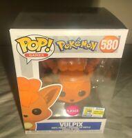 Funko Pop Pokemon Vulpix Flocked SDCC Official Sticker