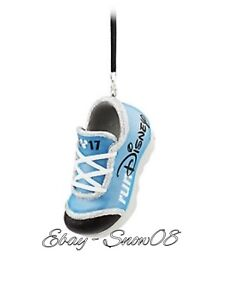 Disney Park runDisney Sneaker Ornament Shoe 2017 New With Tags