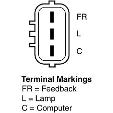 Remy 11129 Remanufactured Alternator