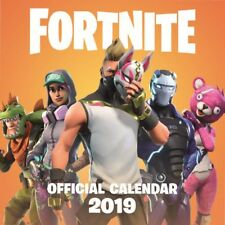 2019 Fortnite Wall Calendar, Gamers by Hachette Book Group