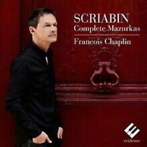 FRANCOIS CHAPLIN - COMPLETE MAZURKAS [New & Sealed] CD