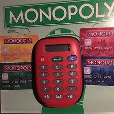 MONOPOLY ELECTRONIC BANKING EDITION * BANKER UNIT ATM CALCULATOR W/ CARDS