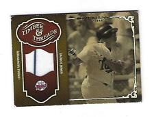 Jacque Jones 2005 Donruss Timber & Threads Jersey Card, # TT-15.
