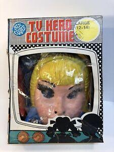 I Dream of Jeannie Halloween costume 1973  vintage mask ben cooper