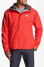 MENS HELLY HANSEN SEVEN J CIS 3 IN 1 JACKET - SIZE SMALL - ALERT RED/ESPRESSO.