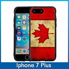 Canada Canadian Flag Grunge For Iphone 7 Plus & Iphone 8 Plus (5.5) Case Cover
